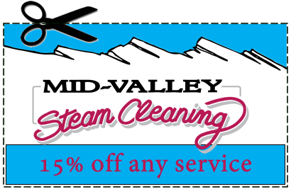 Mid-Valley Steam Cleaning - Coupons
